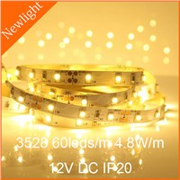 Epistar SMD 3528 flexible LED Strips Light 60LEDs/m DC12V