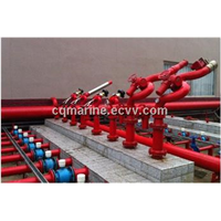 fire monitor/water fire monitor, foam fire monitor/spray nozzel
