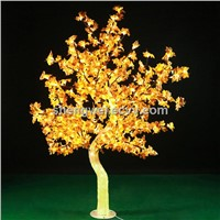 waterproof LED Maple Christmas Light Tree Graden Decoration Tree 2 meter height