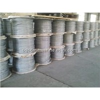 stainless steel rope,galvanized steel rope,hot dipped galvanized steel wire rope