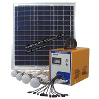 home Power System, with Mobile Charger, led bulb, Audio input, Radio, High Quality, Hot-selling.