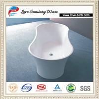 New Design!!!Italia Design composite stone resin bathtub for sale