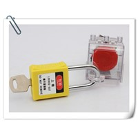 ABS SAFETY LOCKOUT PADLOCK WITH STEEL SHACKLE names for locksmith safety lockout padlock  door locks