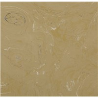 Artificial marble for table tops and countertops
