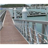 Aluminium Alloy floating dock