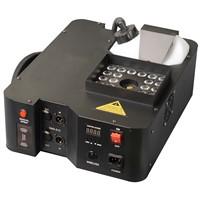 DJ POWER 1500W Digital 24pcs*3W  RGB LED Colorful UP Fog Machine For Wedding Effects Event Party 8CH