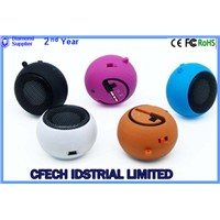 AiL brand 2014 fashion stylish hamberger speaker with FM/TF card/U disk function