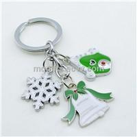Christmas Snowflake Keychain