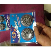 ss 410 430 stainless steel scourer