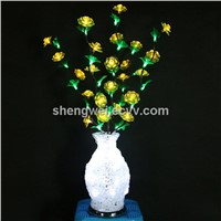 Wedding/Christmas/New Year Flower Vase with 108LED