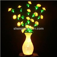 LED Flower Vase 50 LED Indoor Artifact Light New Year/Christmas/Wedding