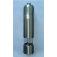 Electric pepper grinder, electric pepper mill, electric salt grinder, electric salt mill