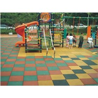 Outdoor Playground Safety rubber Flooring Tiles