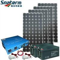 Complete Off grid tied Solar Power Generator Solar Home Power System 1000w/2000w/3000w/5000w