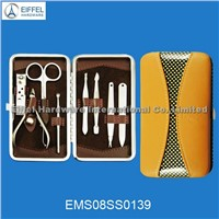 High quality stainless steel 8pcs pedicure set (EMS08SS0139)