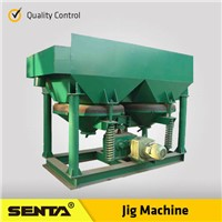 Electric Auto Alluvial Gold Mining Iron Ore Mineral Saw Tooth Jigging machine