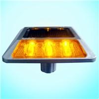 Solar Square shape road stud(with Pole), square shape road marker light,led mark lighting