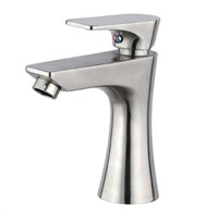 Stainless steel lavatory faucet for bathroom basin AGLP02