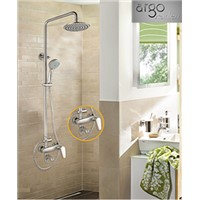 Stainless steel bath faucet with rainfall and handheld shower head AGLY01