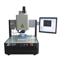 Thermostatic laser tin soldering system
