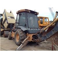 used Changlin backhoe loader