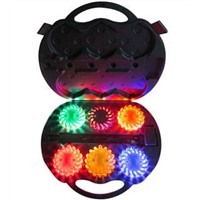 6-Pack Rechareable Led Power Flares LED FLares Led Road Flares
