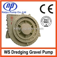 WS series gold mining dredging pump