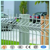 PVC coated curved fence/protective fence netting panel direct factory