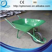 firm front braces construction wheelbarrow