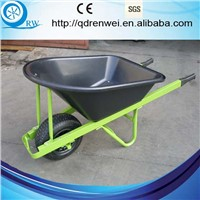 poly tray construction wheelbarrow with large capacity