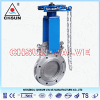 Chainwheel Valve, Chain Wheel Valve, Chain Wheel Knife Gate Valve