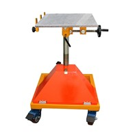 ROTATING SAND BLASTING TABLE, ROTATING WORKING TABLE