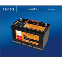 12V car battery with high quality factory direct maintenance free car battery