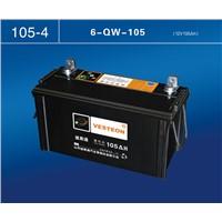 12V auto car battery with DIN standard Vesteon Car battery