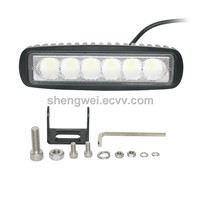 High Power Brightness Car Head Lamp 36w LED Car Jeep Light