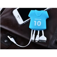 Cute Mutifunctional Phone Charging USB Cable