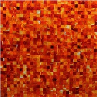 Red Agate Mosaic Tile