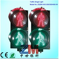 Solar LED movable traffic light;