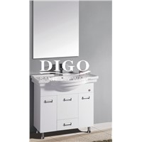 PVC/SOLID WOOD/STAINLESS STEEL/ BATHROOM CABINET VANITY DG-1137 HANGZHOU
