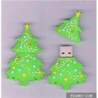 AiL christmas theme USB memory stick as promotional gift