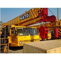 used Kato NK-400E-v truck crane