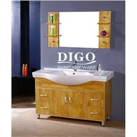 SOLID WOOD/PVC/STAINLESS STEEL/ BATHROOM CABINET VANITY DG-2024 HANGZHOU