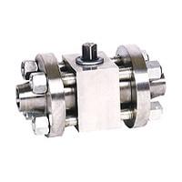 Hyperbaric welding ball valve