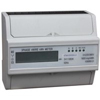 DTS1532 THREE PHASE DIN RAIL WATT-HOUR METER
