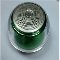 Crystal mobile phone bluetooth speaker