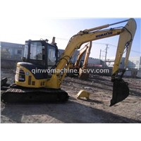 Supply used mini komatsu  excavator  pc55mr-2