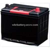 12V 60Ah Maintenance Free Car Battery