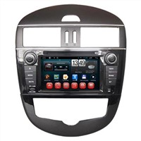 Wholesale 2 Din Android DVD Navigation In Cars Raido TV USB iPod Entertainment Nissan Tiida