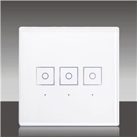 z-wave smart home system Three-wire Touch Switch