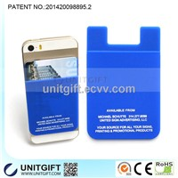 Silicone id card holder
